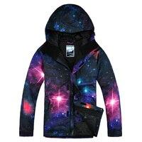 2019 New Gsou Snow Snowboard Jacket for Men  Winter Male Waterproof Windproof Breathable Skiing Jacket Soft Cotton Warm Jacket