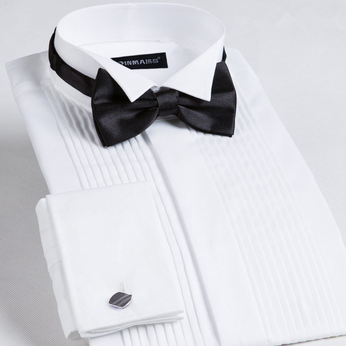 New Arrival Wedding Dress Banquet Male Formal Shirt Large Long