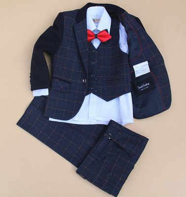 (Ceket + Yelek + Pantolon + Kravat + Kravat) erkek Takım Elbise Çiçek kız Slim Fit Smokin Marka Moda Bridegroon Elbise Düğün Takımları Blazer01
