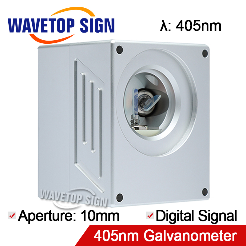 405nm Laser Digital Scanning Galvanometer Scanbox Aperture 10mm Economic Type