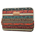 "Bohemian Design 11 12 13 14 15.6 Inch Cavas Laptop Bag Notebook PC Sleeve Case Pouch for Woman for HP Macbook Sony 11.6"" 13.3"""