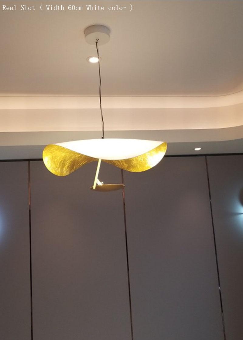Lámpara colgante de mano de Phube, lámpara colgante moderna de Hotel, lámpara colgante para el salón - 4