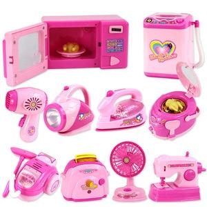 Image 2 - Bambini mini Educativi Cucina giocattolo Rosa Elettrodomestici Giochi Per Bambini Da Cucina Per I Bambini Le Ragazze Regalo Giocattolo Dropshipping