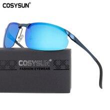 COSYSUN Aluminium Women Sunglasses Brand Designer Driving Glasses Mirror Gradient HD Polarized Oculos De Sol