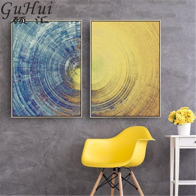 Whimsy Vortex Combination Creativity Earth Texture Art Poster Modern