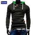 Toonies Brand Clothing Slim Fitness Pullovers Hoodies Sweatshirts Men 2016 Autumn Winter Fashion Street Hip Hop Hoody Tops Male