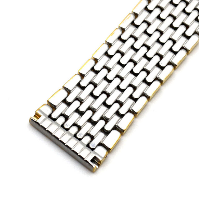 Nueva Llegada 18mm 20mm 22mm correas de Reloj Genuino Reloj Pulsera Banda de acero inoxidable de Alta Calidad