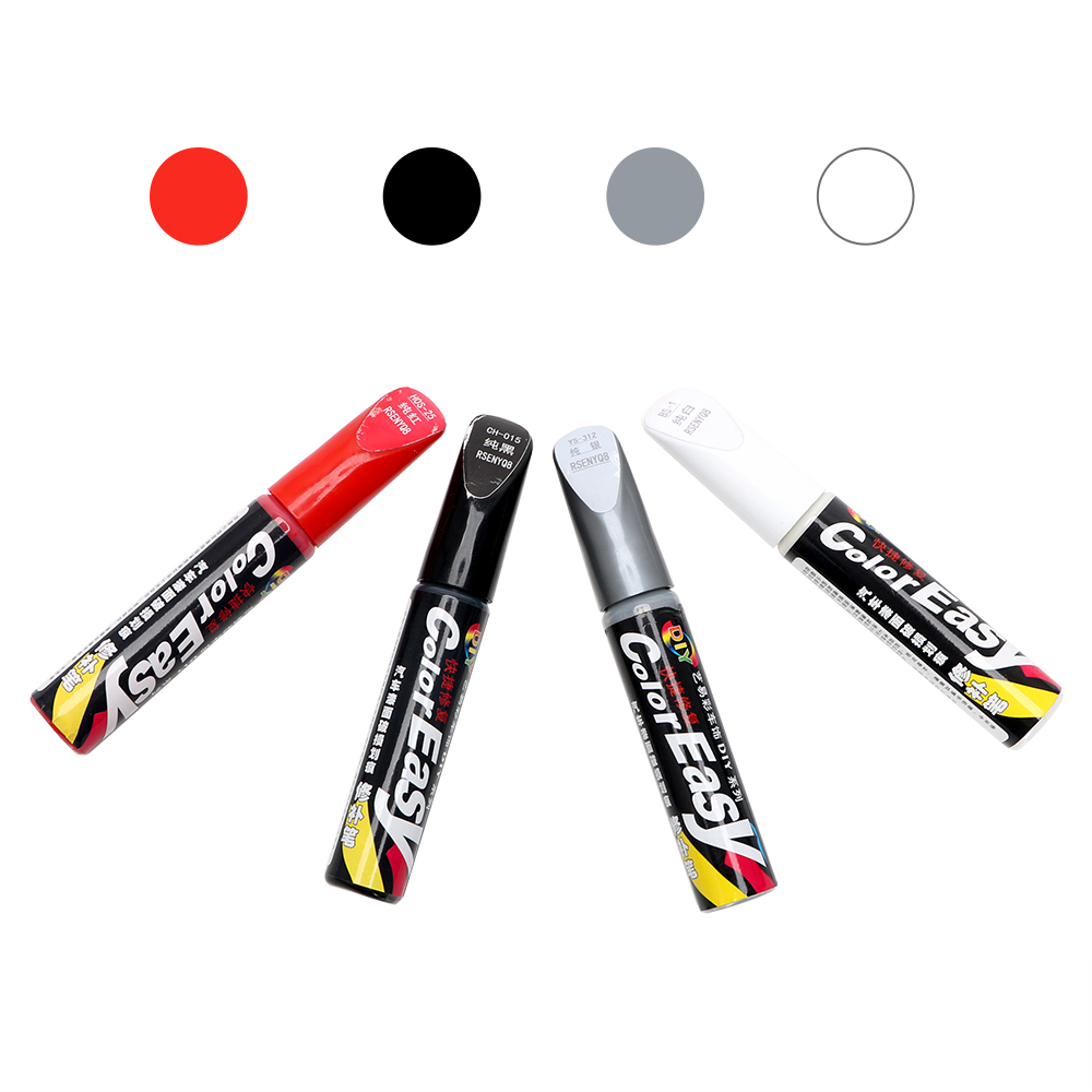 LEEPEE Car styling Professional Auto Paint Pen Maintenance Fix it Pro Paint Care 4 Colors Car Scratch Repair-in Painting Pens from Automobiles & Motorcycles