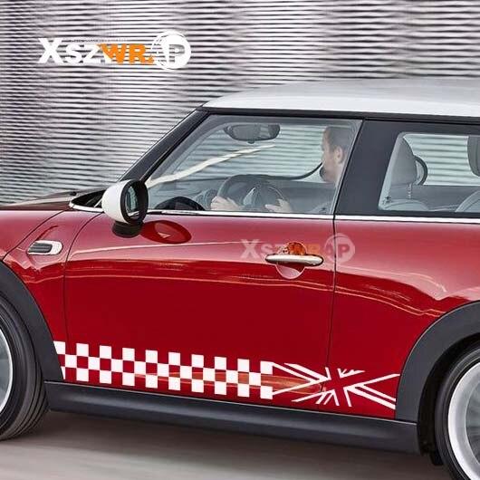 Mini Cooper Standard Hood Stripe Decals FIts All Models MC-03