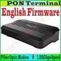 EngFirmware GPON Terminal de acceso de Fibra SC de fibra óptica módem 1.25 Gbps UIT-T G.984/PC Puerto GPON ONT a 1000 Gigabit RJ45 Puerto