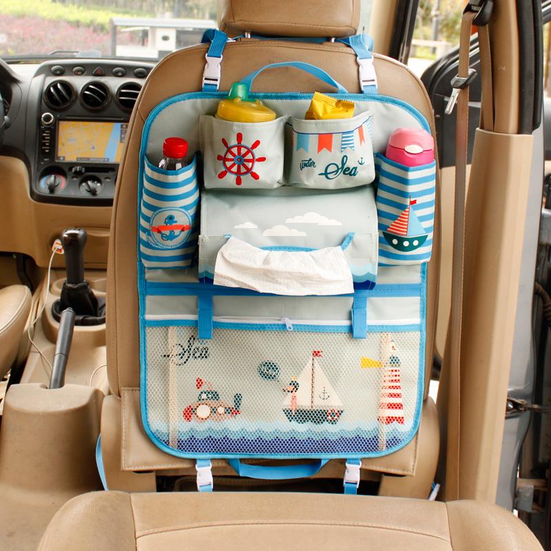 Cute-Cartoon-Car-Organizer-Back-Seat-Multi-Pocket-Storage-Box-Bag-Hanging-Insulation-Holder-Mummy-Bags