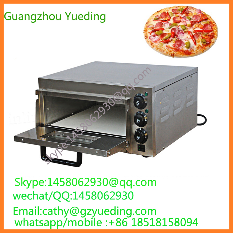 Bakery equipment stainless steel high efficiency commercial electric pizza oven , baking machines , stone electric pizza oven цена и фото