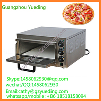 Bakery equipment stainless steel high efficiency commercial electric pizza oven , baking machines , stone electric pizza oven