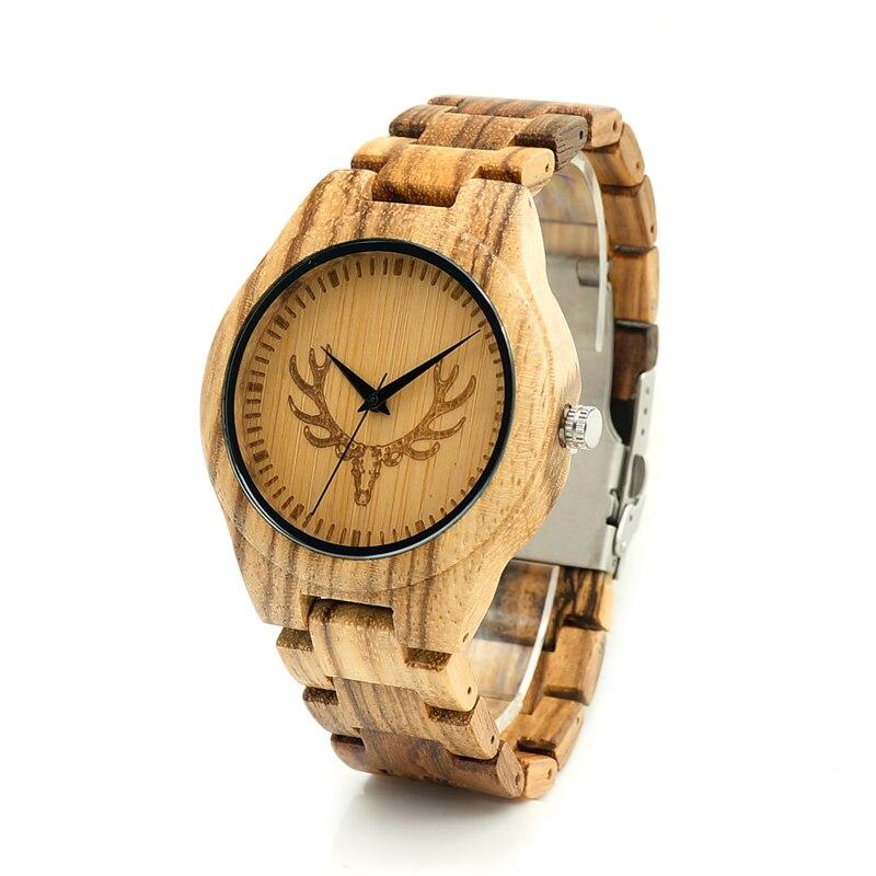 2017 BOBO BIRD Brand All Wooden Watch Men Casual Luxury Wood Strap Wristwatches Gifts Watch reloj