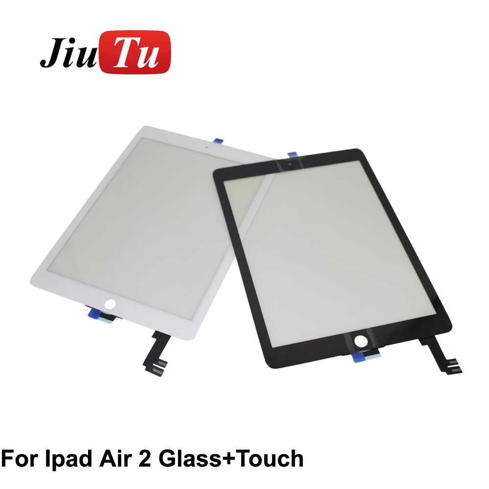 White Glass Touch Digitizer Screen Replacement Parts Adhesive glue for Ipad 4