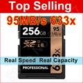 95 МБ/с. 633x16 Г 32 ГБ SDXC SDHC SD Card 64 ГБ 128 ГБ U3 Класса 10 Карта Памяти Для 1080 P full-HD 3D 4 К видео DSLR Камеры HD видеокамеры