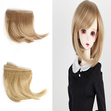 5Pcs/lot Free Shipping 15*100cm Natural Colors Classic Curly Doll Hair for BJD Dolls Wig