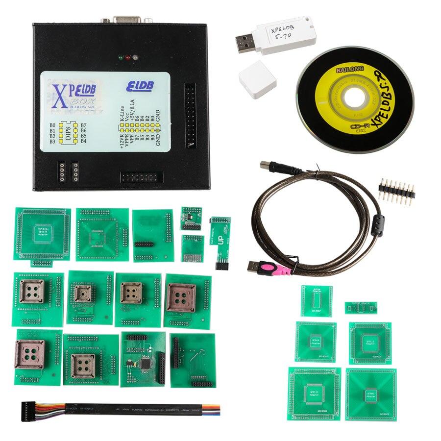 XPROG V5 74 Xprog Box 5 74 ECU Programmer with USB Dongle Xprog M Support CAS4