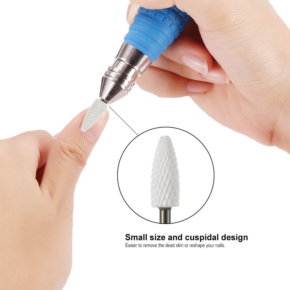 ASWEINA 8 Type Diamond Nail File Drill Bit Burr Milling Cutter ...