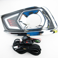 2PCS Dimming Style Relay 12V LED Car DRL Daytime Running Lights With Fog Lamp Hole FOR