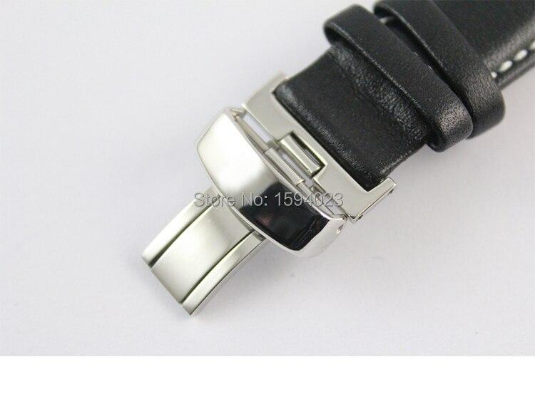 19mm (Buckle18mm) PRC200 T067417 Hög kvalitet Silver Butterfly - Tillbehör klockor - Foto 6