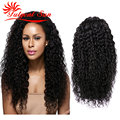 full lace human hair wig brazilian virgin hair deep curly brazilian hair full lace wig with baby hair 130% density