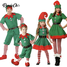 7c36a7e1aaf6e Santa Claus Costume For Men Christmas Costume For Family 2018 Women New  Year Cosplay Kids Christmas