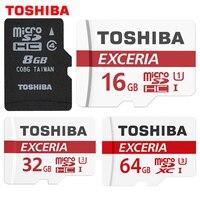 TOSHIBA Memory Card 8G 16G 32G 64G SDHC SDXC U3 Micro SD Class 10 Flash Microsd