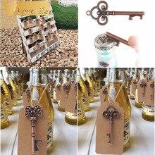 10pcs Wedding Souvenirs Skeleton Bottle Opener + Tags Weddin