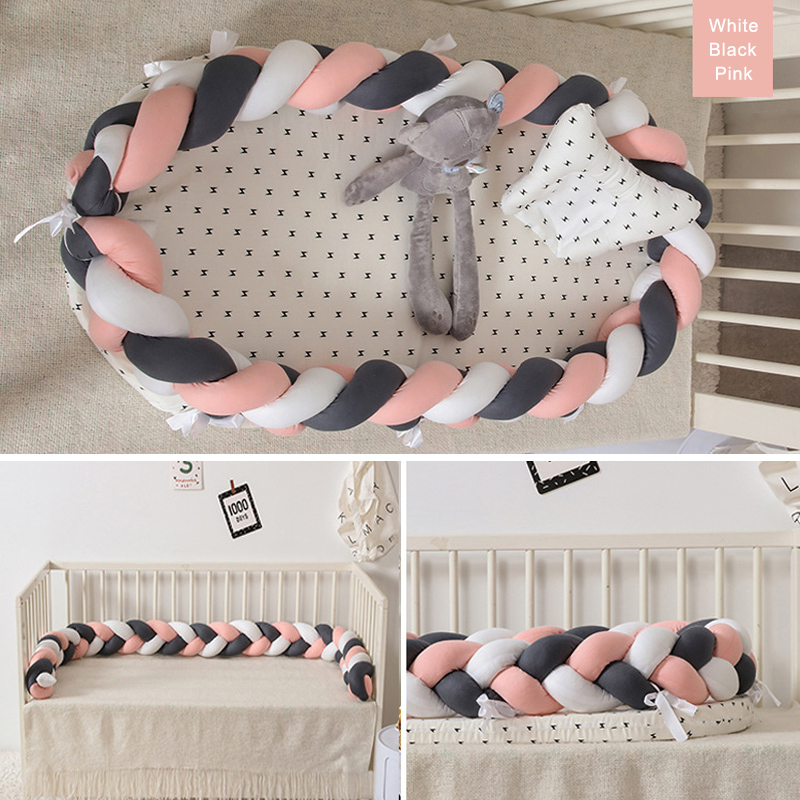 NEW Arrival Newborn Baby Knit Portable Removable And Washable Crib For Newborn Baby Nest Sleeping Bed Travel Crib Bed Nest