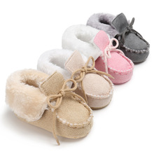 2017 Winter Warm Baby Shoes Casual Style,  Toddler Boots Fur First Walker