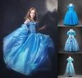 2016 baby girls princess cinderella dress halloween children cosplay costume fairy tale princesa party dress vestido infantil