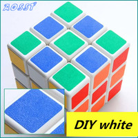 Scrub Three Game Puzzle Cube Early Learning Toys For Children PVC Fidget Cube Magic Cube Children