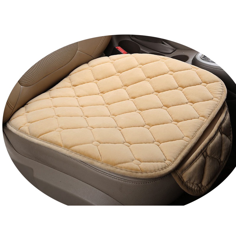 Winter Plush Car Seat Cover Cushion For Honda Accord Civic CRV Crosstour Fit City HRV Ve ...