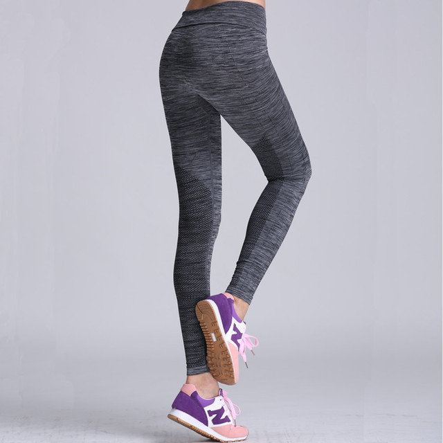 ef3361e6f8dbf7 Linen Sport Women Fitness Leggings Seamless Yoga Pants Compression Tights  Quick Dry Mallas Mujer Deportivas Running Exercise