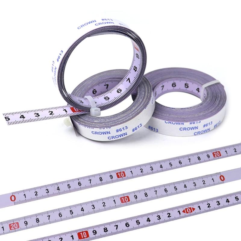 Self Adhesive Tape Measure Metric 0 9m 10m Miter Track