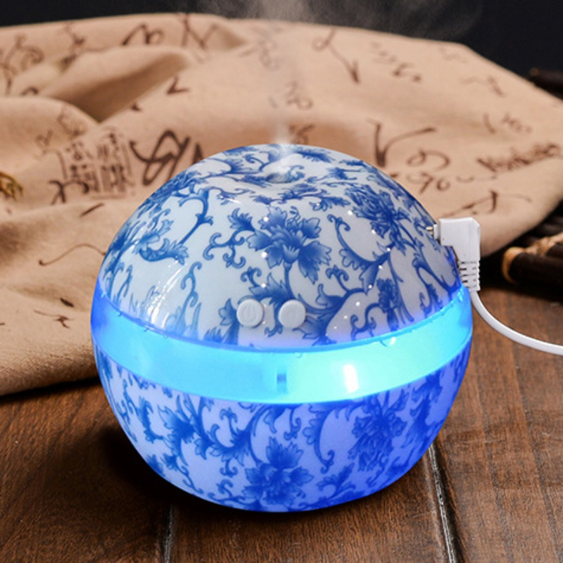 Electric Ultrasonic Air Humidifier Aromatherapy Essential Oil Diffuser Aromatherapy USB Home 300ml