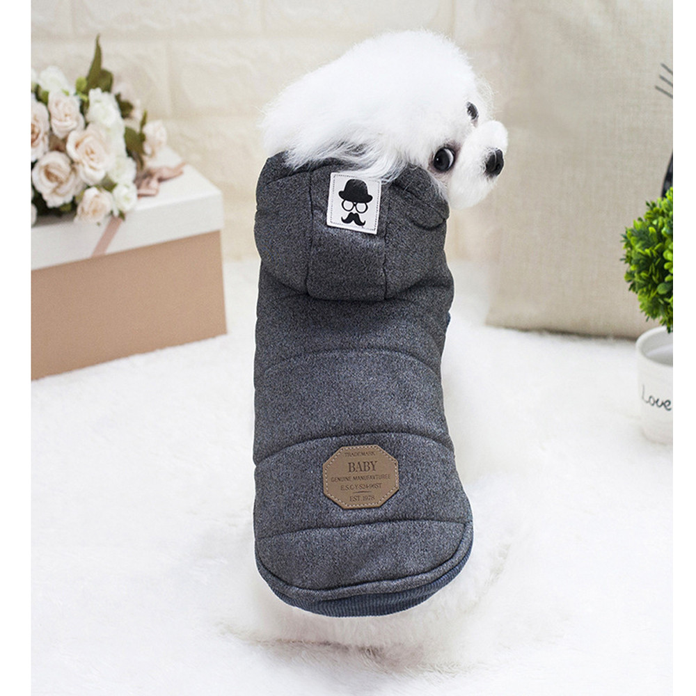 Dog Clothes For Small Dogs Pet Products Clothing HOT Puppy Pet Dog Cat Clothes Hoodie Winter Warm Sweater Coat Costume Apparel