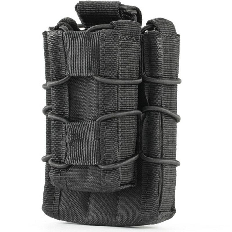 Ambidextrous Taktis Pistol Hand Gun Holster Magazine Holder Pinggang - Berburu