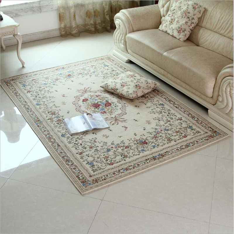 European simple style soft large carpets for living room - Huge living room rugs ...
