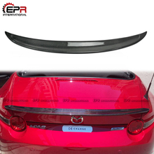 Carbon Fiber Rear Trunk Spoiler Wing Lip RF LMS Style Duckbill Spoiler For Mazda MX5 Miata ND