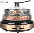 220В бытовой сплит электрический горячий горшок мульти плиты жаркое один горшок электрическая сковорода 1300 Вт мульти плиты