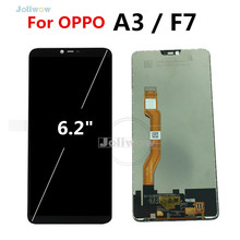 F7 LCD FOR OPPO A3 LCD DIsplay with Touch Screen Digitizer Assembly Replacement For Oppo F7 CPH1819 CPH1821 /  A3 CPH1837 цена и фото