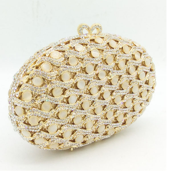 Luxury Clutch evening pochette bags gold hollow out crystal wedding clutch bag diamond women bride Clutch party female handbag gold clutch evening bags luxury diamond clutch bags women pochette bling handbag handcraft wedding banquet purse bag pink blue