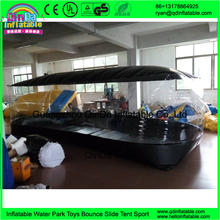 Multipurpose inflatable tent garage car spray booth outdoor inflatable car garage tent