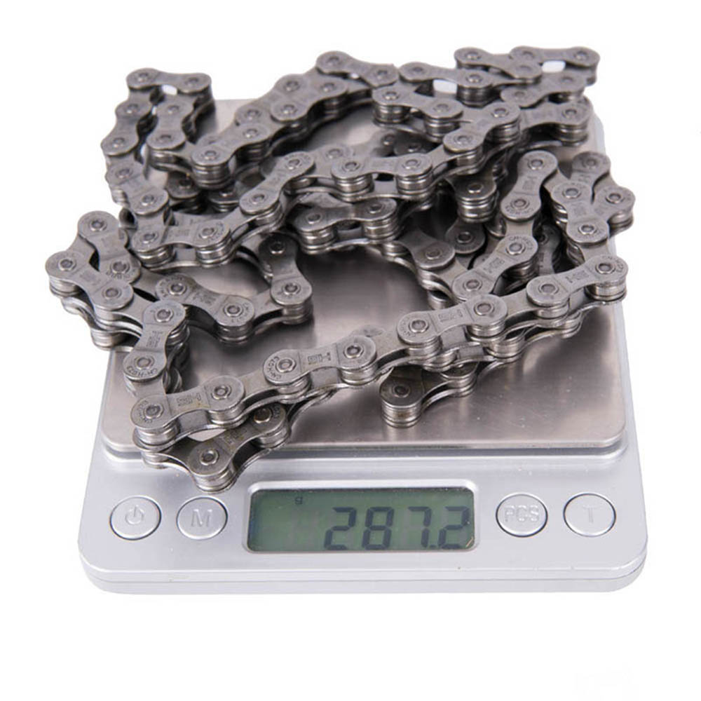 820dc374f998 SKOVAT High Quality 9 Speed 116L Bicycle Chain Stainless Steel 9s 18s 27s  Silver Gray Chain Bike For MTB Road Bike Bicycle Parts-in Bicycle Chain  from ...