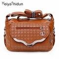 MeiyaShidun Случайные женщины сумка кожаные сумки сумка crossbody день клатч для женщин сумки bolsas femininas