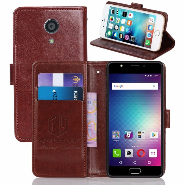 online retailer c0f3a 8010f GUCOON Vintage Wallet Case for BLU Life One X2 5.2inch PU Leather Retro  Flip Cover Magnetic Fashion Cases Kickstand Strap-in Wallet Cases from ...