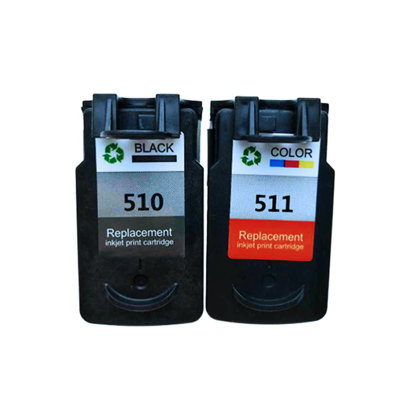 PG510XL CL511XL PG510 Ink Cartridge for Canon MP240 MP250 MP260 MP280 MP480 MP490 IP2700 MP499 printer PG 510 CL 511 pg510 in Ink Cartridges from Computer Office