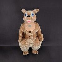Гигантский Кенгуру костюм талисмана взрослых Аниме Косплэй Наборы Mascotte карнавальные костюмы животных надувные кенгуру маскарадный костюм